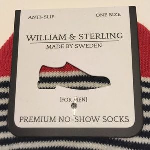 Underwear & Socks - NWT William & Sterling no-show socks